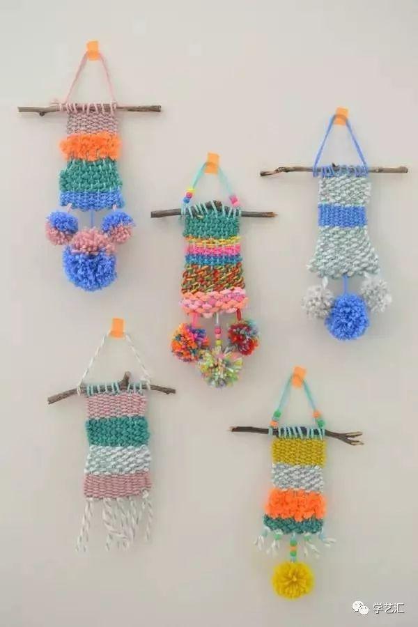 必学的毛线手工编织手链教程 下(详细图解)