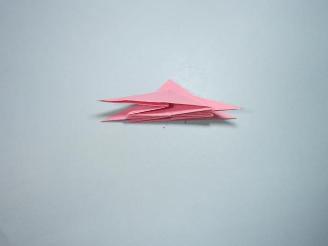 儿童手工折纸花 花朵的折法步骤图解