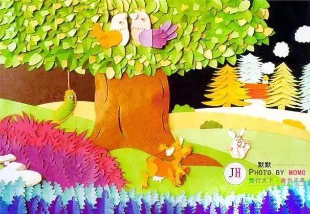 幼儿园开园春季手工主题墙环创布置