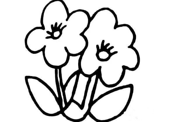简笔画花 简笔画花的画法 简笔画花玫瑰花