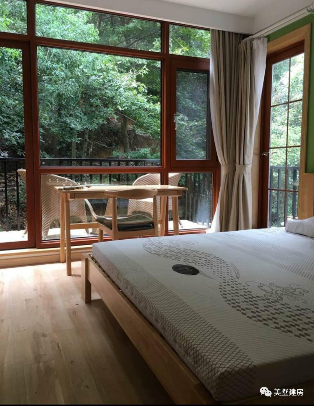 二层的房间,这一间房间采用大的落地窗,光线应该还是十分不错的图片