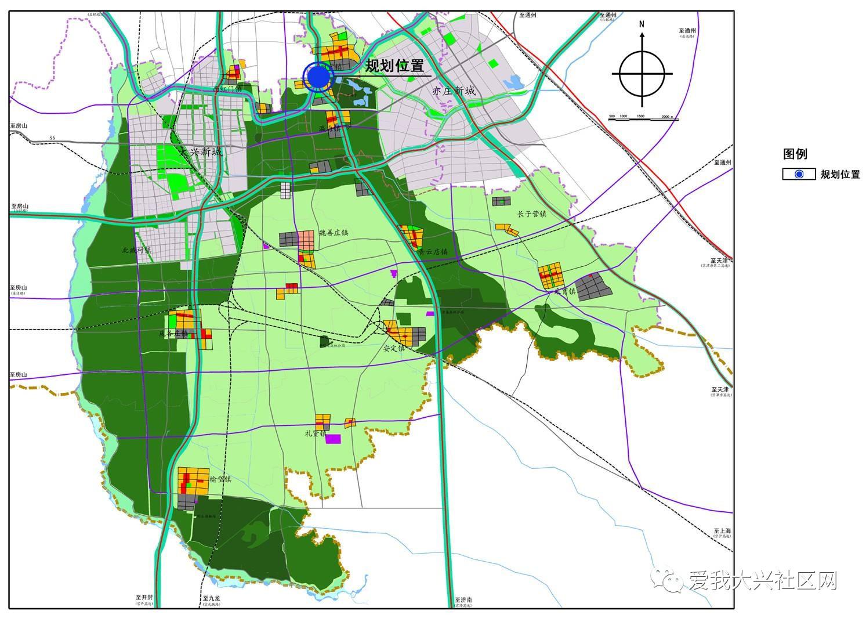 附:北京市大兴区旧宫镇dx05-0102-0043等地块位置示意图图片