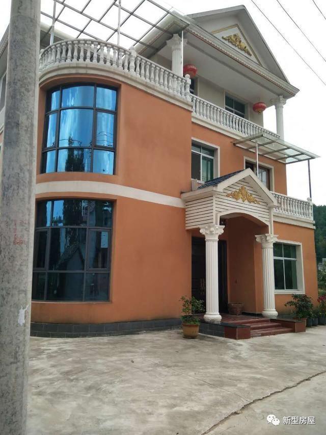 12x11米农村别墅,三层造价40万,三代同堂的家庭都能住