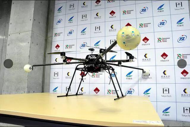 日本研发新型救援无人机 可实现听声辨位