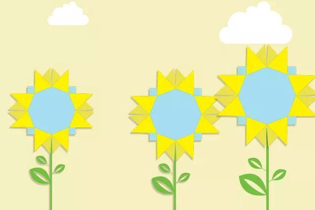 主题墙边框丨寒冷冬日,用灿烂的太阳花迎接新年!
