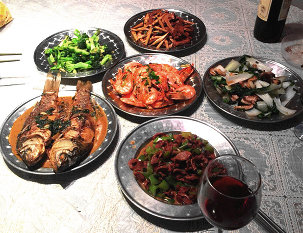 A Henan chowhound family well-being, cooking and living