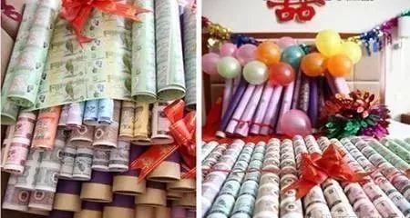 任性炫富,钱币藏家:千万连体99筒整版钞陪嫁.....