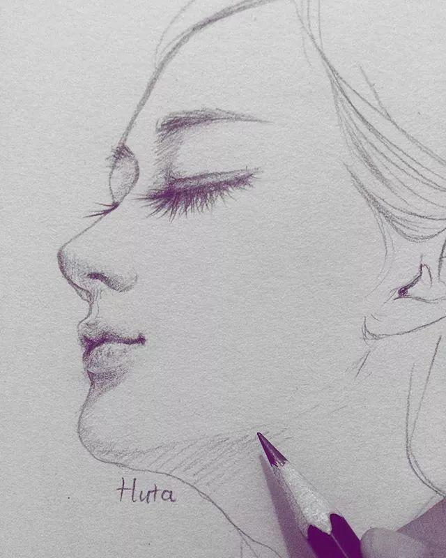 画动漫人物特点:大眼睛,樱桃嘴,小鼻子,小尖脸