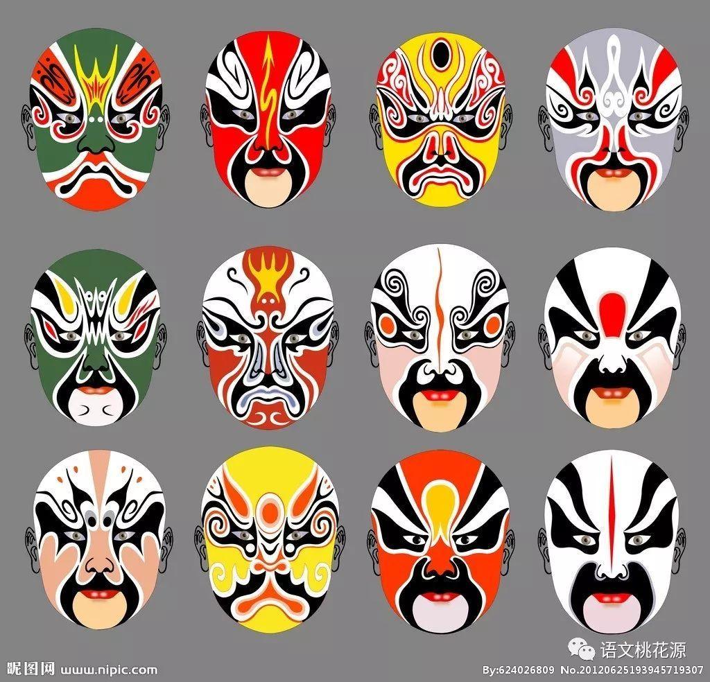 手绘脸谱教学设计