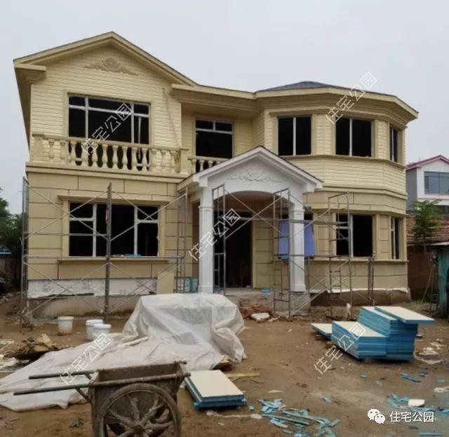 晒家丨北京农村自建轻钢别墅,造价仅1500每平,没了红砖这么建可好?图片