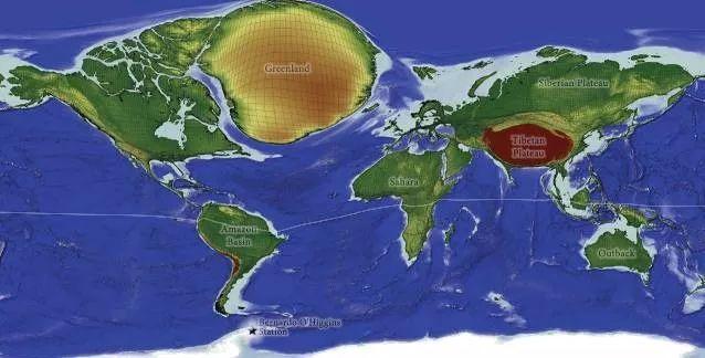 【亲子桥梁】这8幅新世界地图,或许会颠覆你对地球的图片