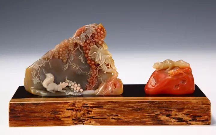 寿山石艺术真正形成独特完整的审美体系始于明晚期