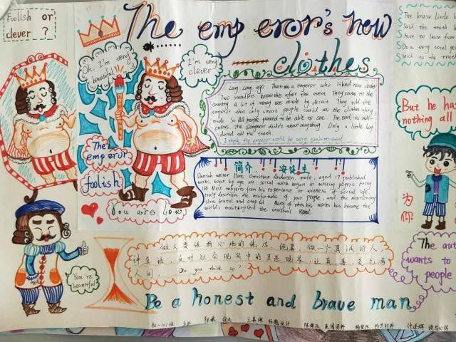 青岛39中(海大附中)初中部七年级英语阅读手抄报大赛圆满结束