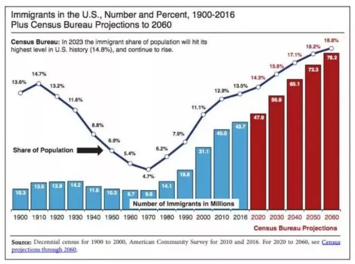 202o年美国移民人口_美国移民来源图片