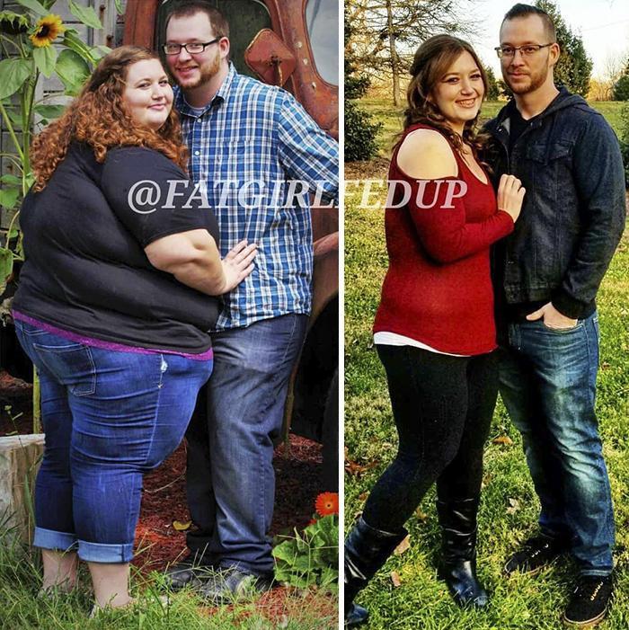 奇闻趣事|爱的力量!美国减肥夫妻档两年合力甩肉360斤