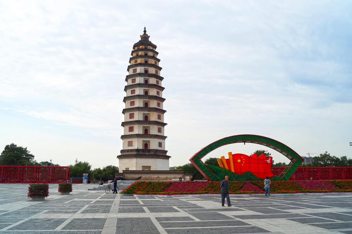 国内最高的千年古塔,历经10次地震不倒,内藏佛祖舍利子