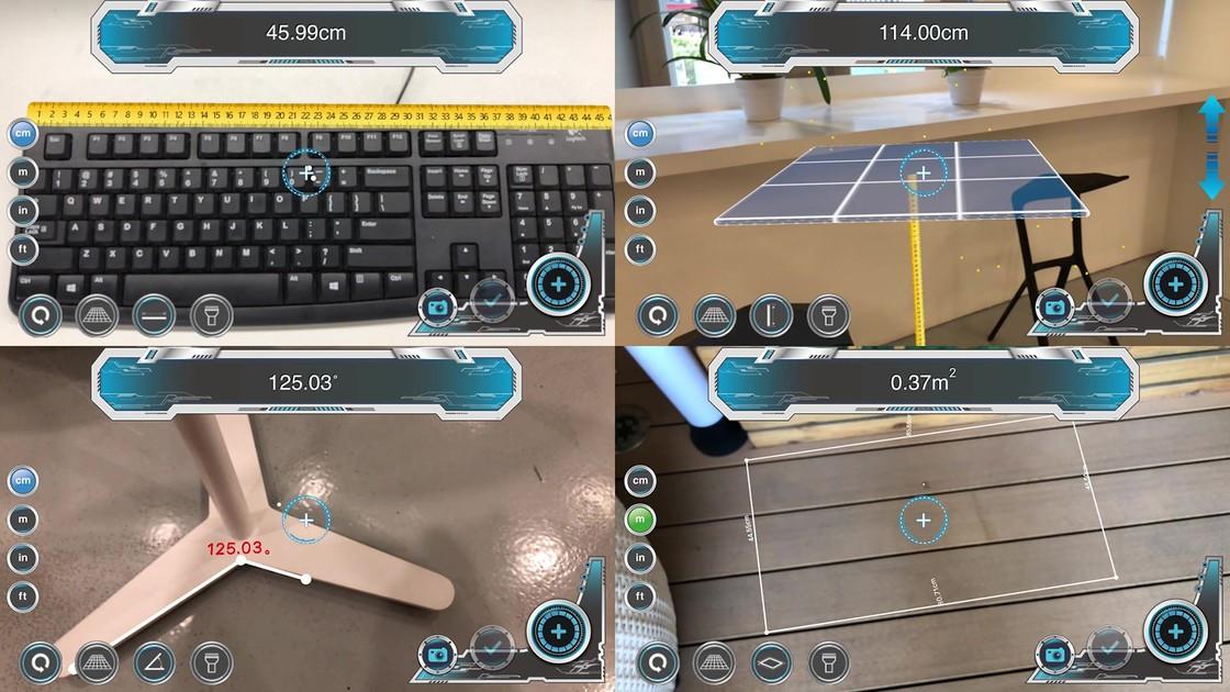《AR尺子:把iPhone手机变成一部万能尺子》