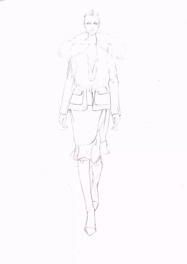 彩铅/马克笔/水彩手绘效果图步骤合集!