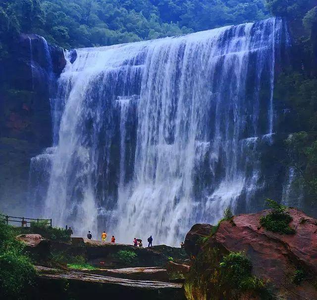 v我国我国十丈洞大正文高76米,宽80米,是攻略丹霞瀑布上最大的地貌苹果iphone瀑布图片
