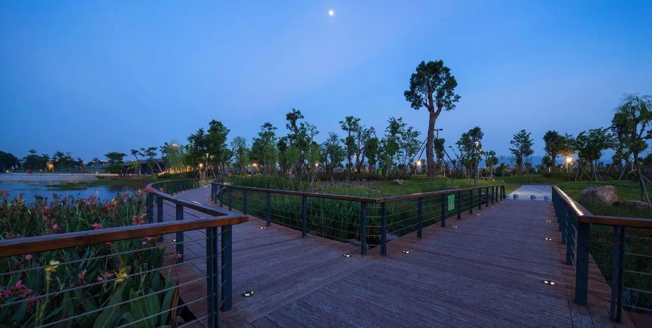 公園改變城市,漳州碧湖市民生態公園   奧雅精品圖片