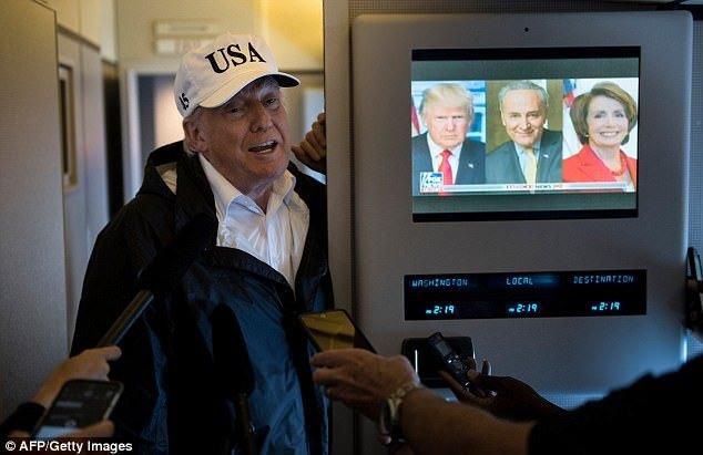 假新闻! 特朗普发飙怒怼:我哪有看8个小时电视!