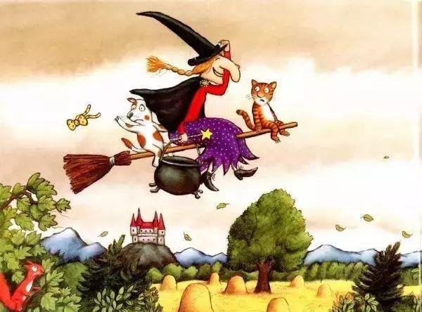 万圣节绘本 |《女巫扫帚排排坐》