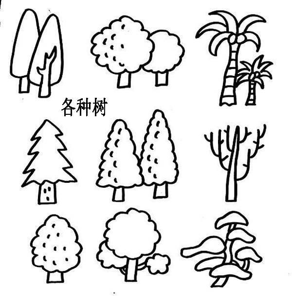 100副可爱又有趣的简笔画,学完赶紧教孩子