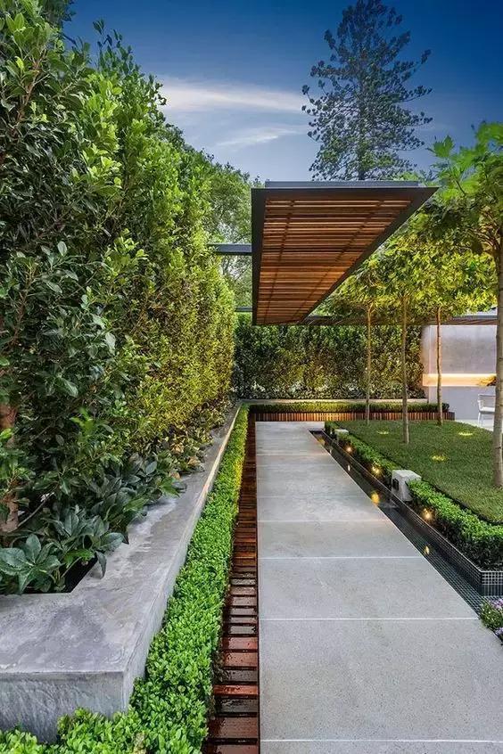 3,庭院花架,提高私密性.图片