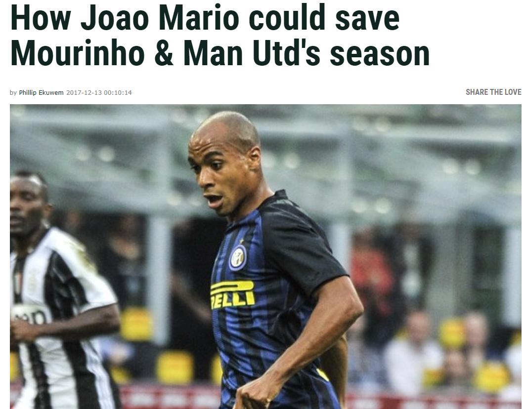 英媒:只有马里奥才气救曼联! 他比博格巴更强
