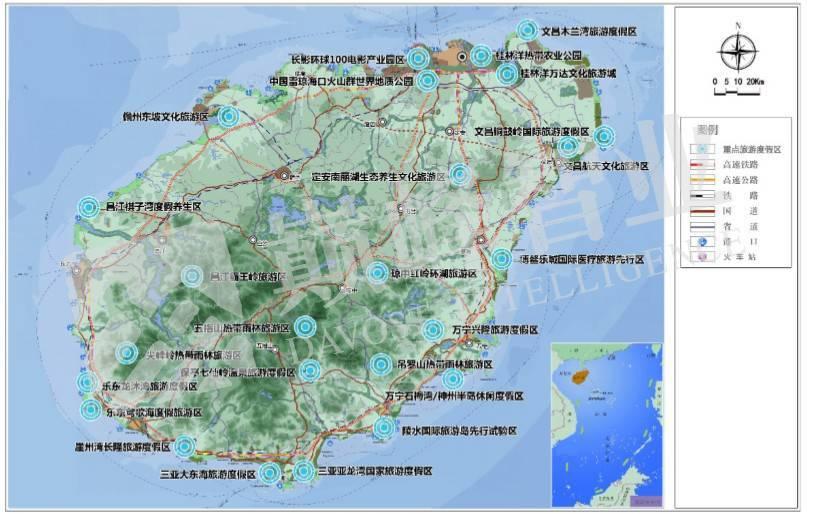 旅游度假区规划图