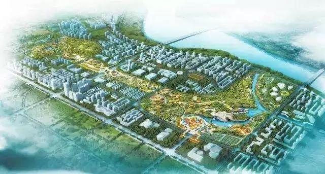 防城港园博园片区规划图