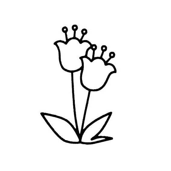 【巧妈手工】各种植物简笔画大全,可以直接涂色哦!(为孩子收藏)