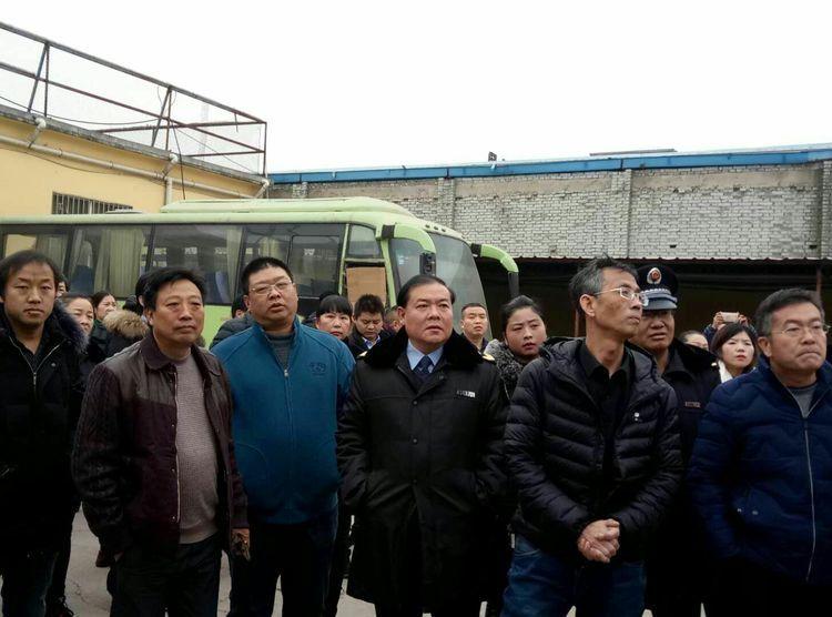 洛宁县食药监局到叶县参观学习食品安全示范县创建工作
