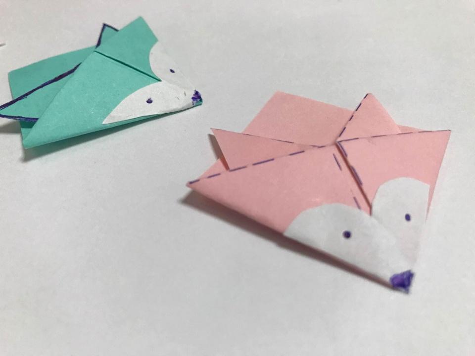 乱了小�_手工折纸 | 可爱小狐狸书签,简单易学,好看好用!