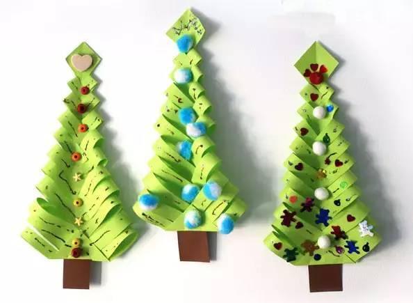 幼儿园最美圣诞节手工