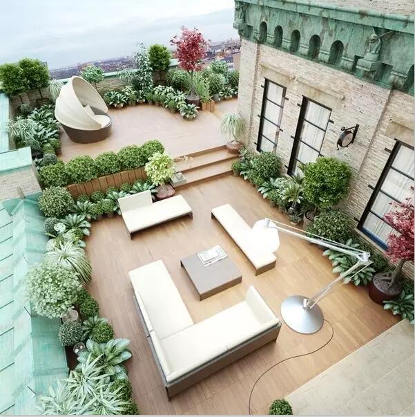 成都屋顶花园景观设计类型要全面的看这里