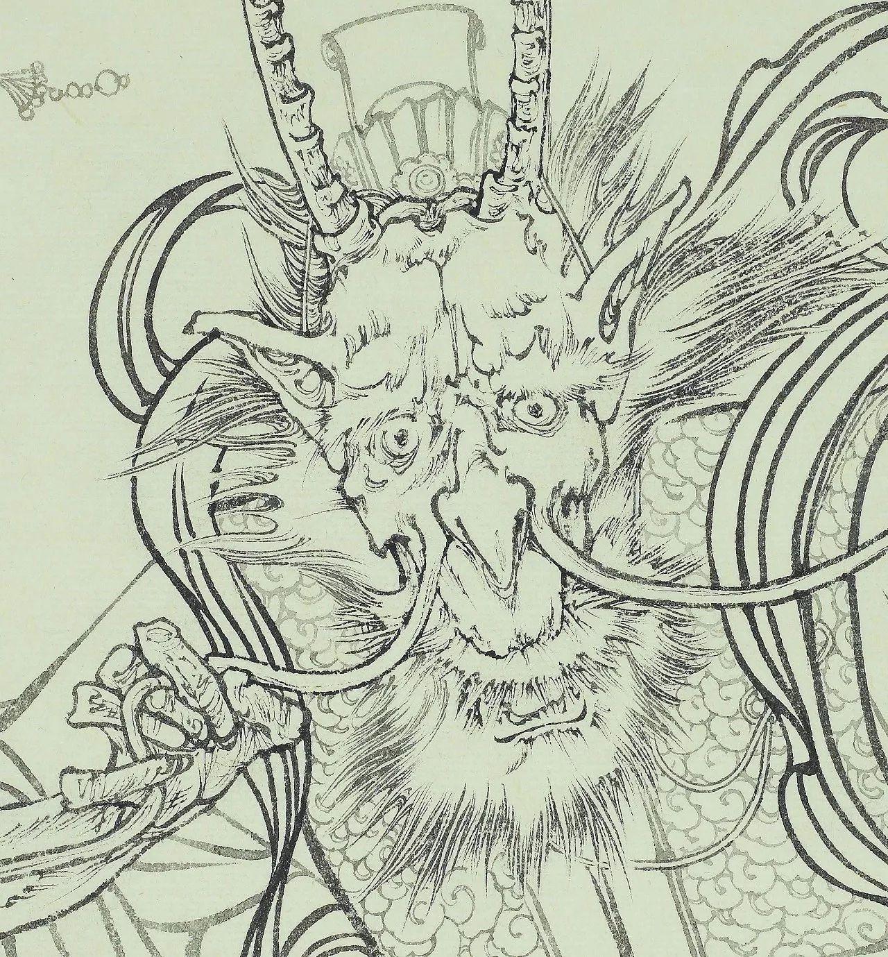 梦龙·门神——付爱民补绘《西游记》连环画原稿全国巡回展 第二回