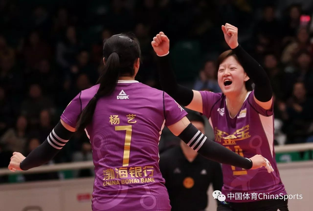 女排超级联赛 天津双杀北京