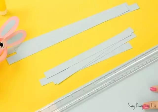 【纸条手工】多变卡纸条,让幼儿园手工课不再单调!