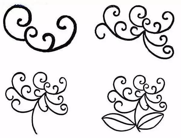 简笔画 设计 矢量 矢量图 手绘 素材 线稿 600_456