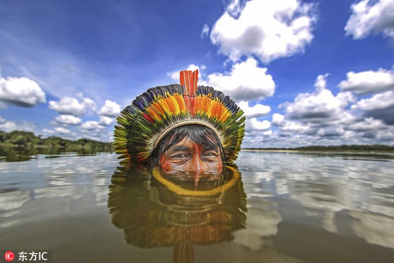 现代文明背后的世界:实拍巴西原始部落生活 (图)