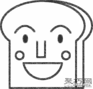 吐司面包超人的画法步骤到这里就完成了,学会怎么画吐司面包超人