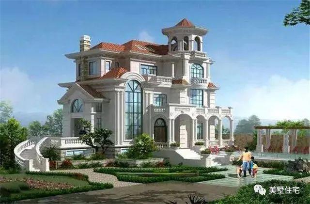 古堡风格别墅设计图