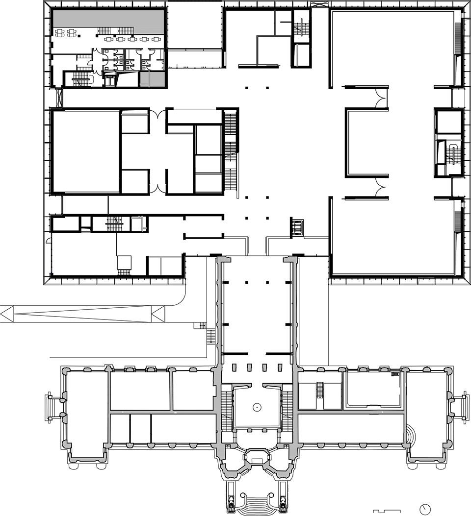 城中之城 :曼海姆美术馆新馆,德国 / gmp图片