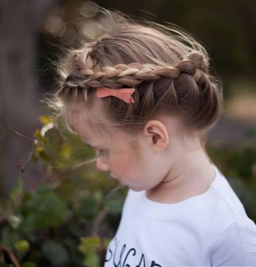 儿童编发双马尾发型 各种双马尾扎法,非常可爱二次元的发型,就像动漫图片