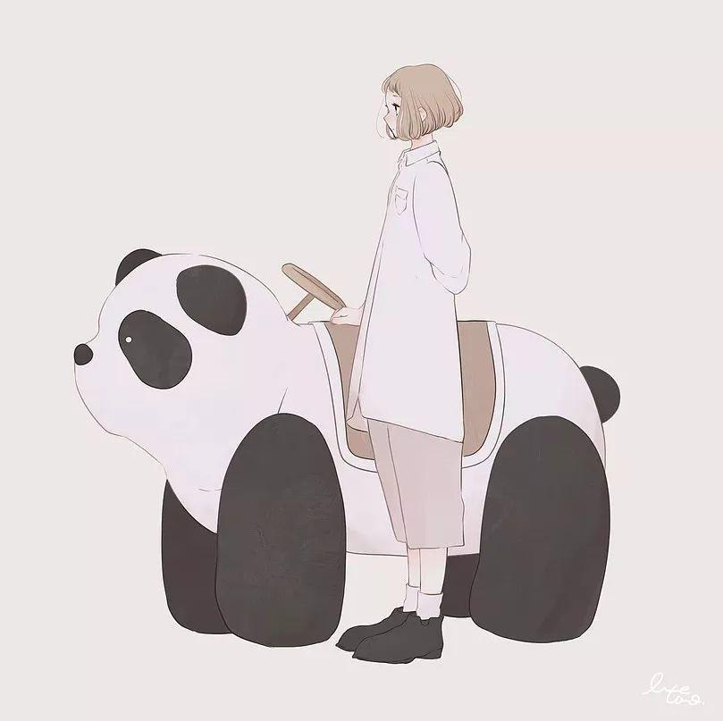 简单清新的人物插画,萌萌哒_搜狐动漫_搜狐网