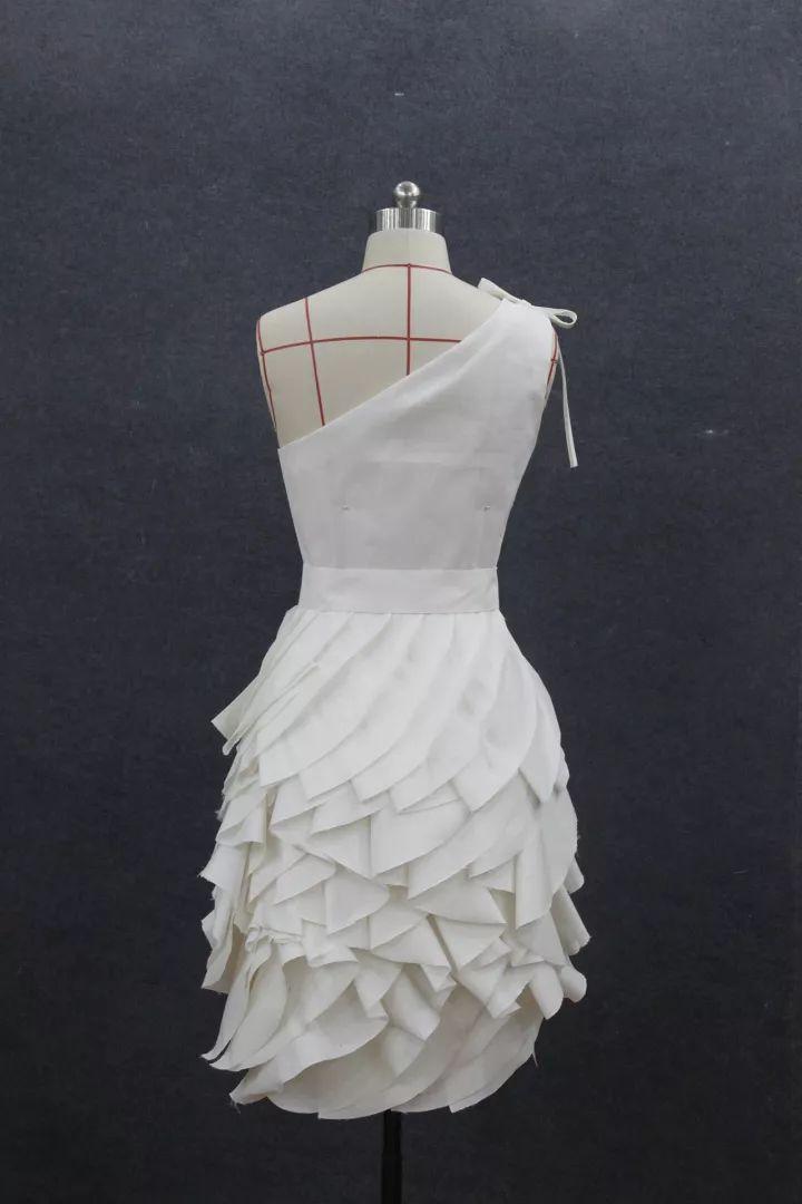 立体剪裁【款式合集】白坯布服装造型设计!图片