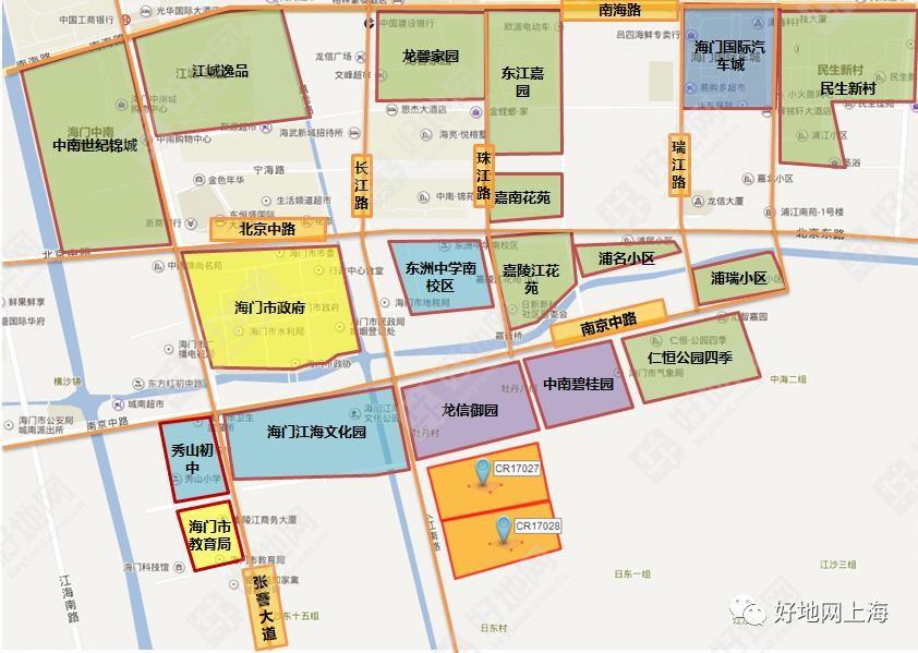 【成交】鏖战9小时!万科以7207元/㎡竞得南通海门市长江路东商住地