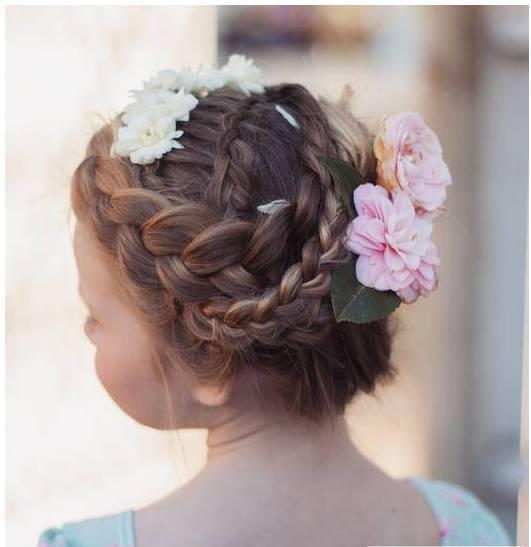 儿童编发双马尾发型 各种双马尾扎法,非常可爱二次元的发型,就像动漫