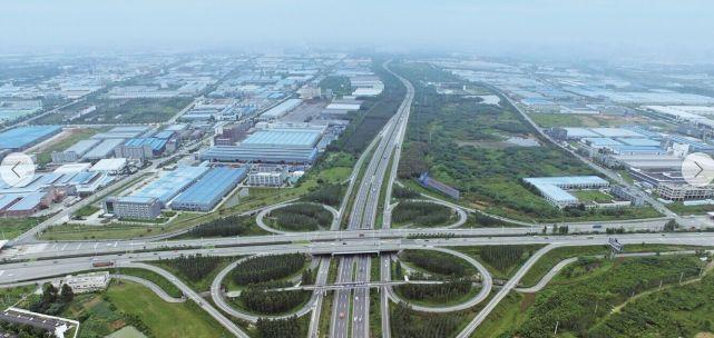 双流区西航港经济开发区工业产业园区鸟瞰图